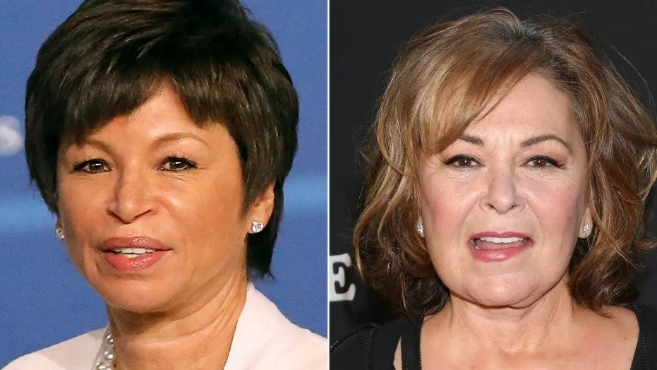 Valerie Jarrett says Roseanne s tweet should be  teaching moment     Former Obama administration official Valerie Jarrett said Roseanne Barr s  racist sentiments about her  posted to