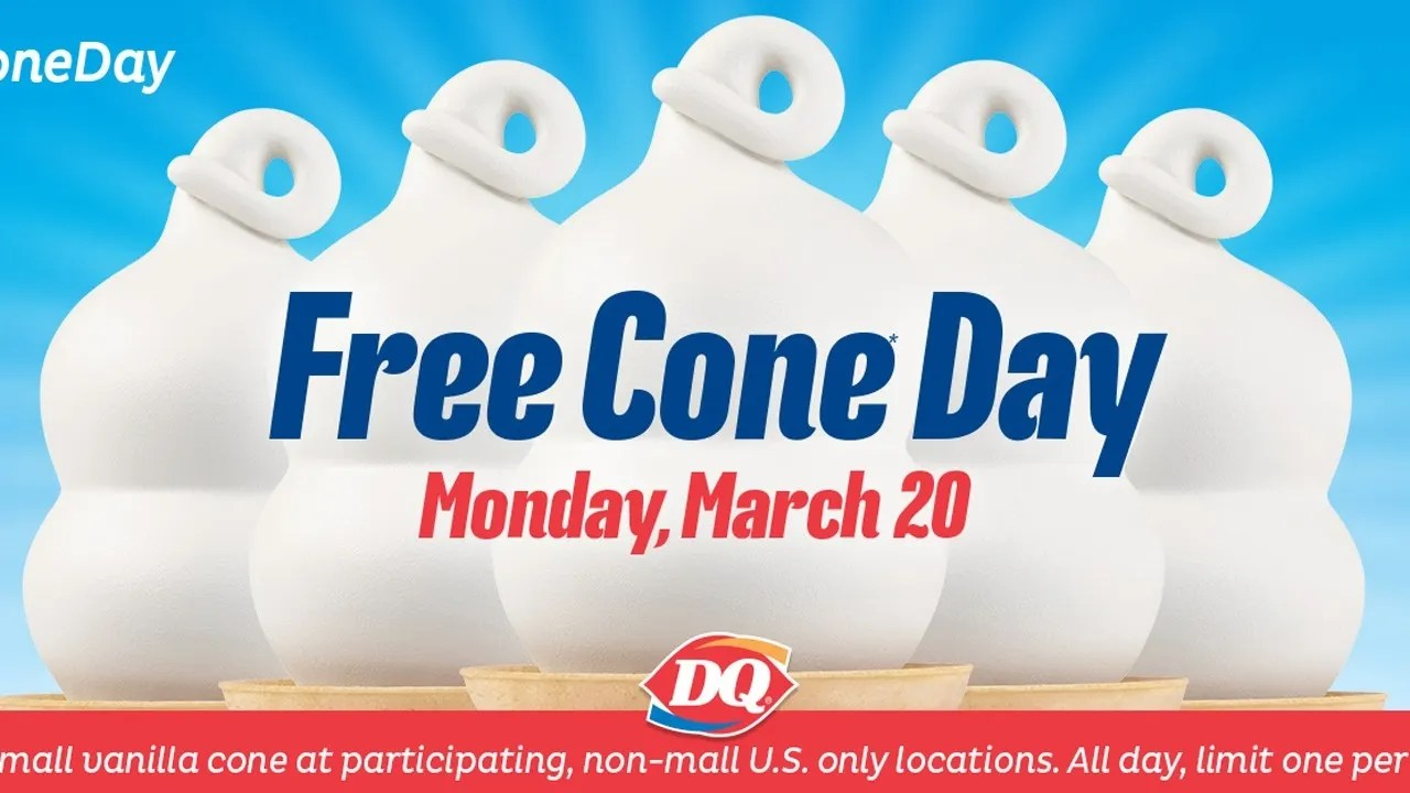 Modish Free Ice Cream At Dairy Queen To Celebrate Day Spring Free Cone Day Dairy Queen 2018 Free Cone Day Dairy Queen 2016 nice food Free Cone Day Dairy Queen 2017