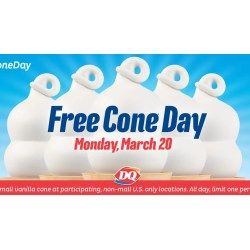 Small Crop Of Free Cone Day Dairy Queen 2017