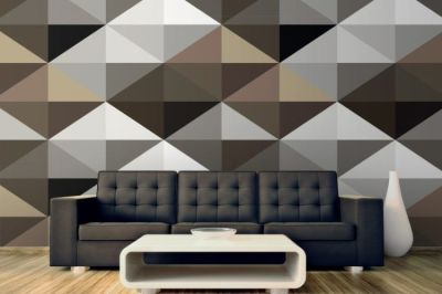 20 Living Room Designs With Geometric Patterns