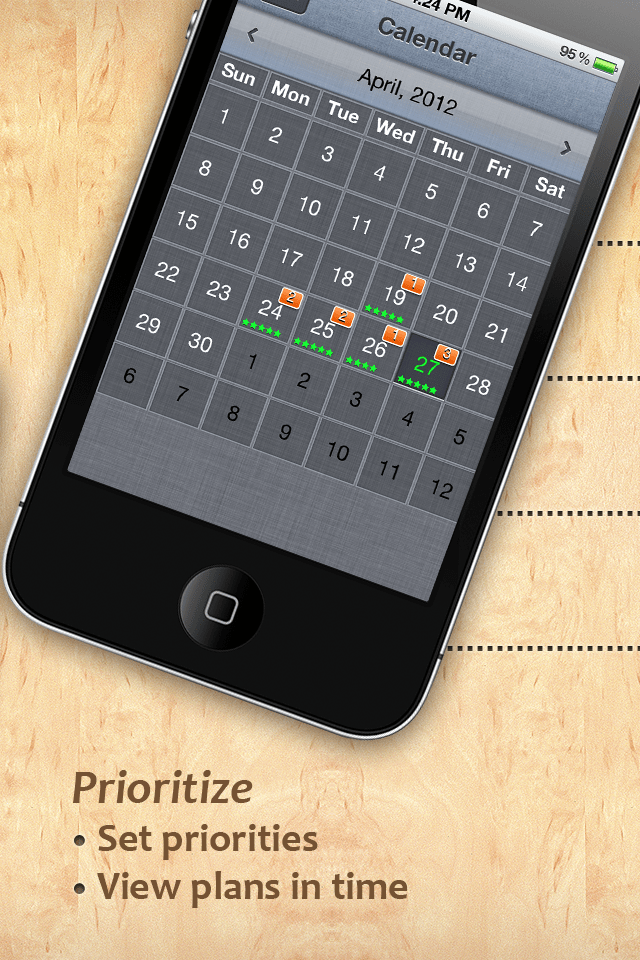 To Do Checklist - Organize tasks, events and time iPhone