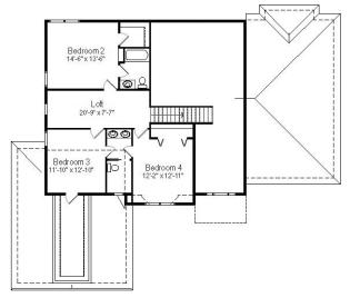 Cypress Second Floorplan