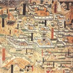 Mogao_Cave_61_painting_of_Mount_Wutai_monasteries