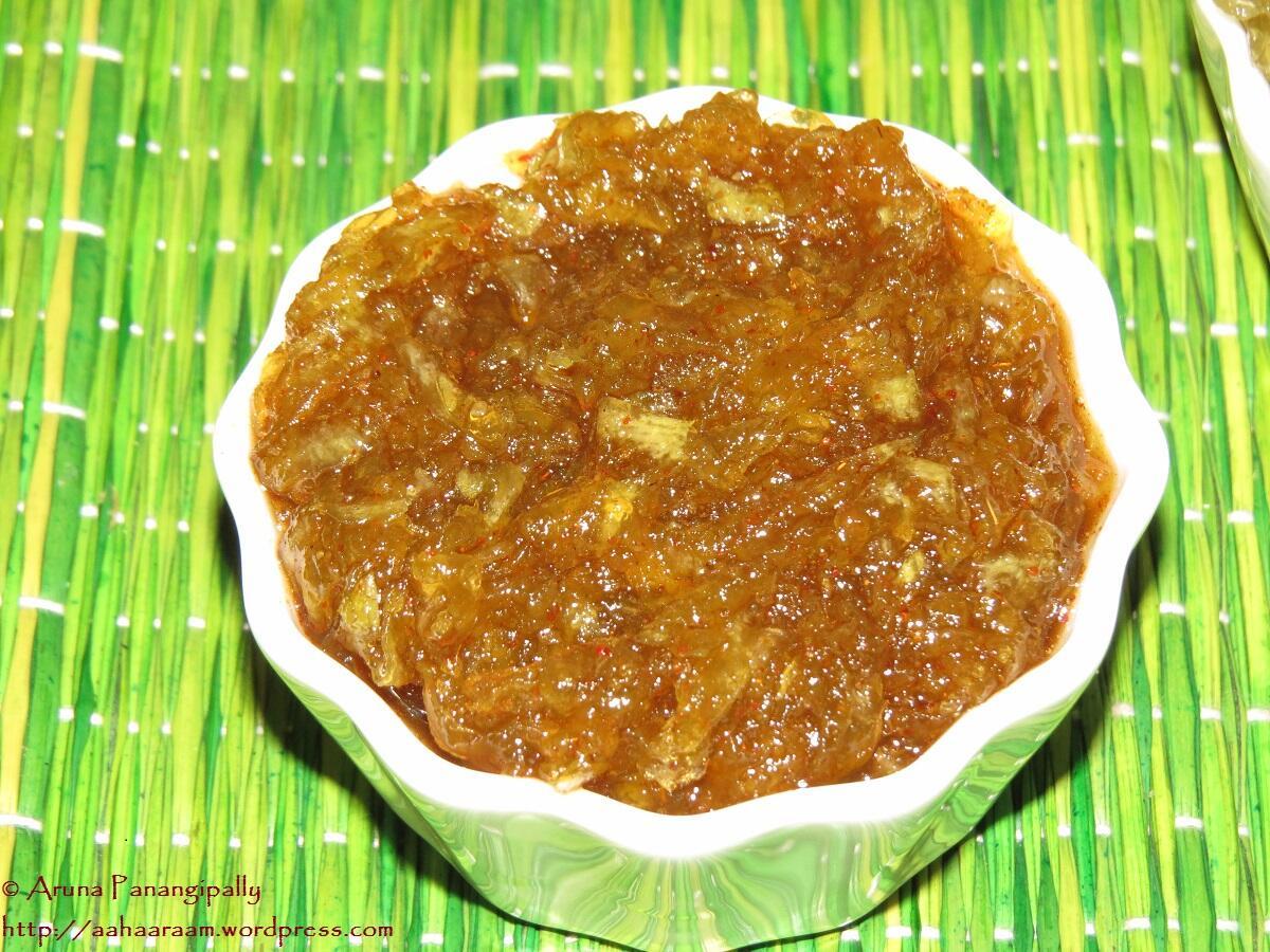 Keri no Chundo or Chunda (Sweet, Sour, and Spicy Raw Mango Jam)