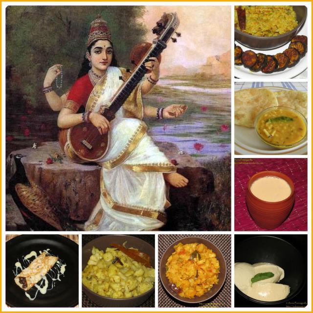 Basant Panchami Saraswati Puja - Bengali Recipes