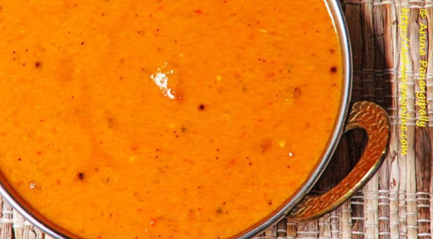 Amlechi Uddamethi – A Recipe from Goa