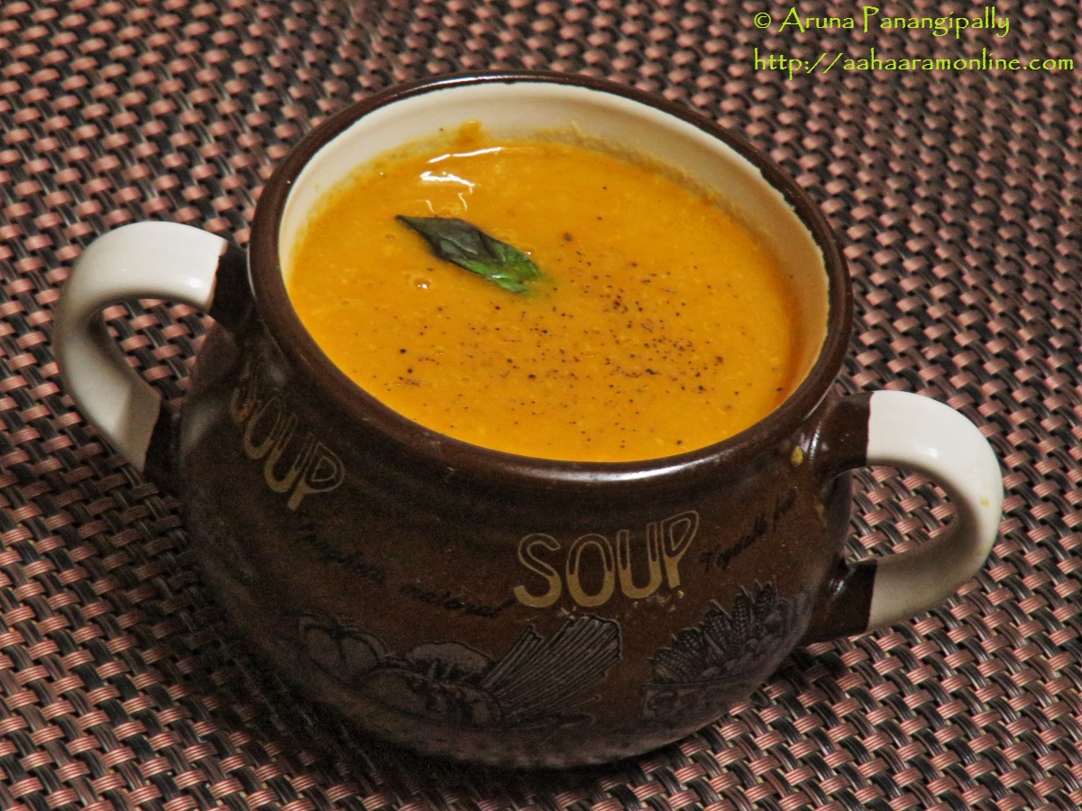 Tomato Basil Soup - Healthy and Delicious