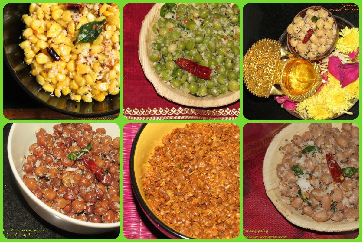 Sundal Recipes for Navratri