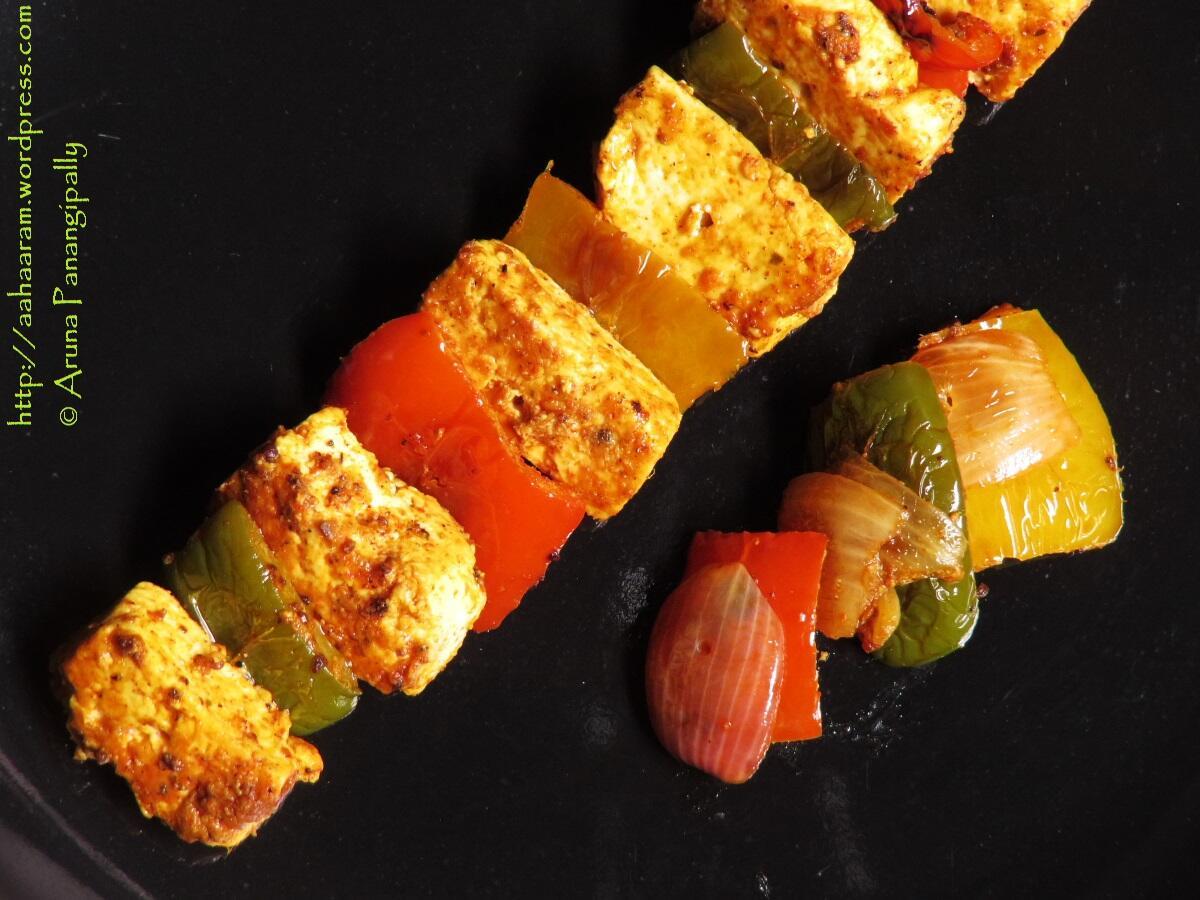 Paneer Tikka (Made on a Tawa)   Recipe by Chef Harpal Singh Sokhi