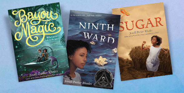 Three books by Jewell Parker Rhodes