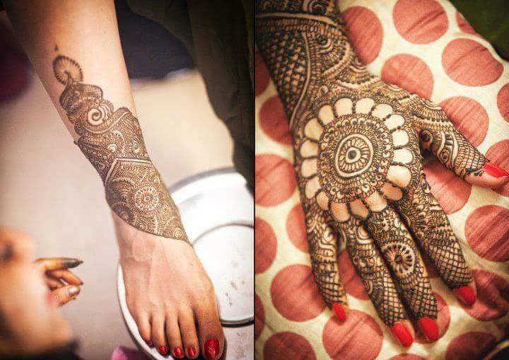 henna inspired projects