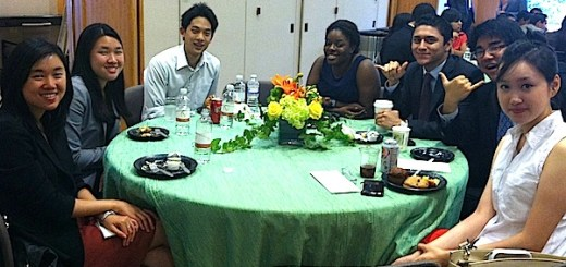 Summer interns at the Tri-Caucus Network Training and Luncheon. (APAICS photo)