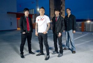 The Asian American rock band, The Slants, in a 2014 photo.
