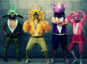 "Peelander Group in a scene from ""Mad Tiger"" (USA and Japan / 2015 / Documentary / English/ 82 mins)"