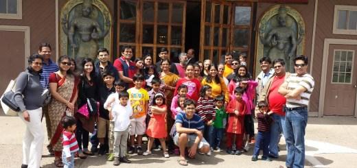 Hindu Religious & Cultural Center, opened Sunday in Morgantown, W. Va. (HRCC photo)