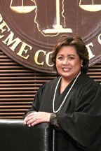 Chief Judge Frances Marie Tydingco-Gatewood. (Guam Supreme Court photo)