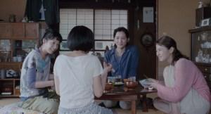 "In a scene from ""Our Little Sister,"" from left, Kaho as Chika Koda, Suzu Hirose as Suzu Asano, Haruka Ayase as Sachi Koda and Masami Nagasawa as Yoshino Koda. (© 2015 Akimi Yoshida, courtesy of Sony Pictures Classics)"