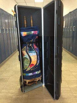 Our traveling Torah is ready to roll!
