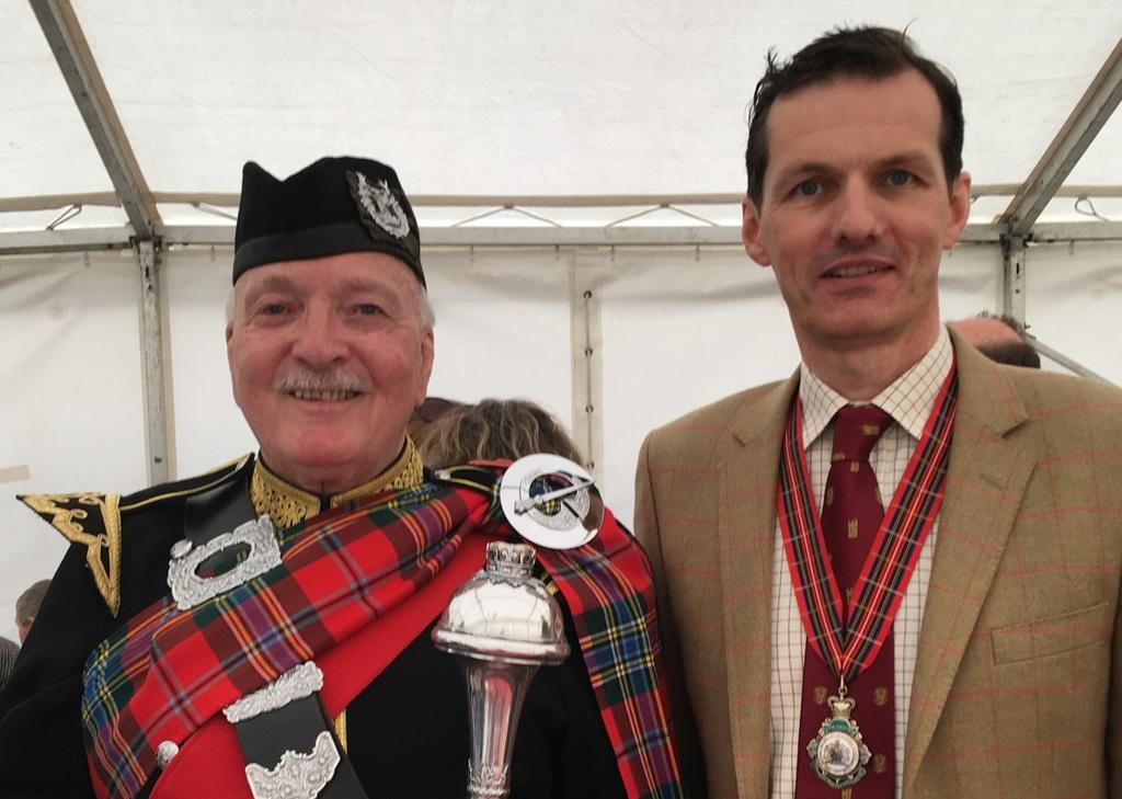 Braemar Gathering 2016 - Aberdeen President Stuart Cordiner