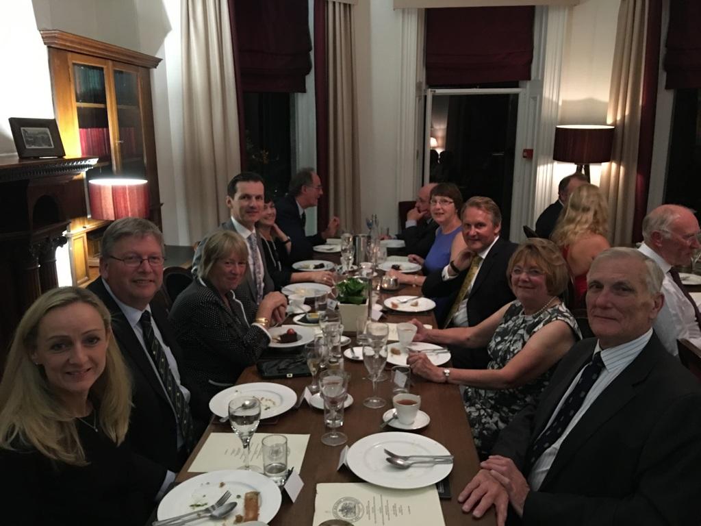 Braemar Gathering 2016 - Aberdeen Presidents Dinner