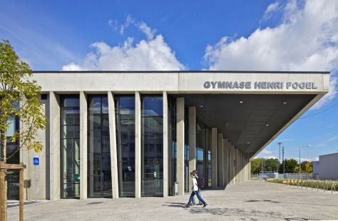 Gymnase Henri Fogel in Saint Nazaire