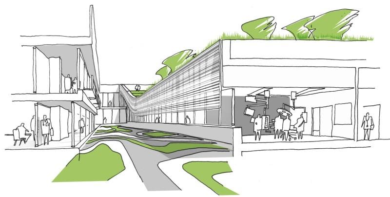 extend hospital complex