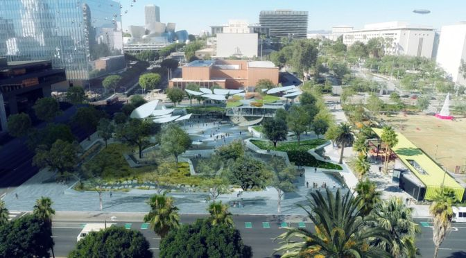 MLA, OMA, IDEO Team selected to design FAB Park in Downtown Los Angeles