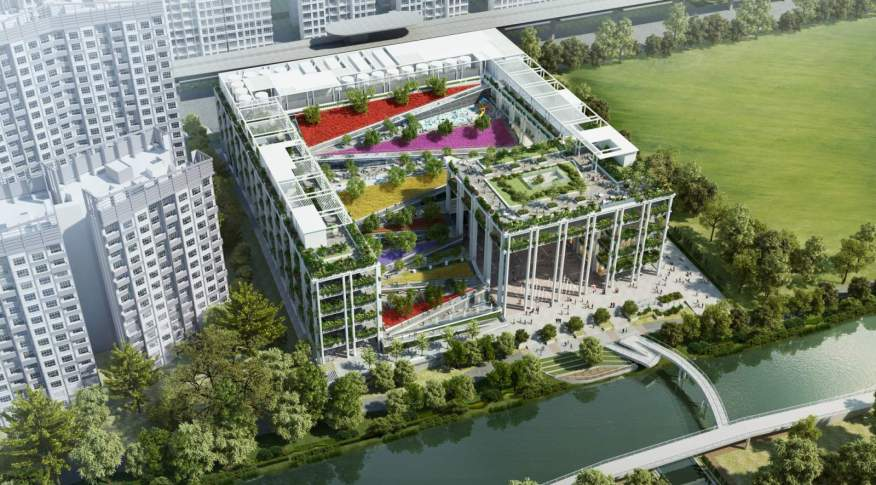 Oasis Terrace in Singapore