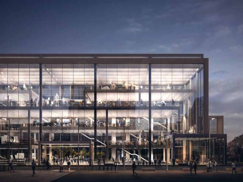 new building for the RCA campus in Battersea
