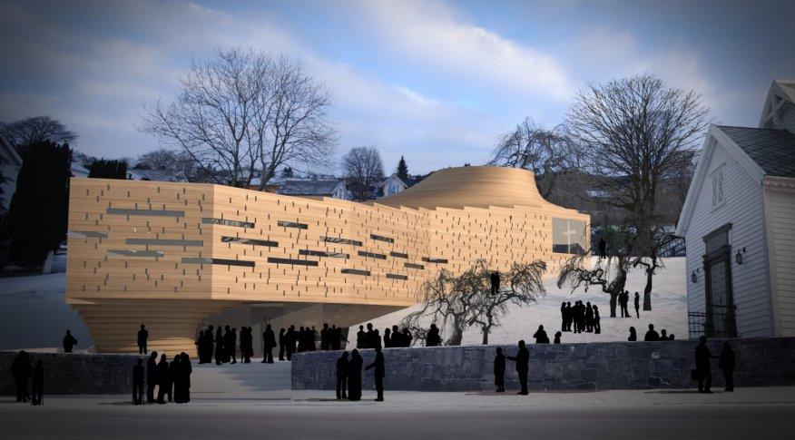 new Ulstein Church