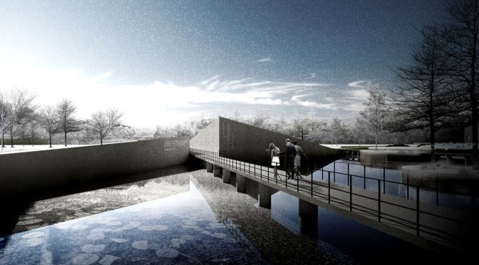 V-House won 3rd Prize Obama Presidential Library by RTDS