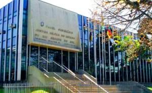 Porto Alegre/RS - Sede da Justiça Militar de Porto Alegre.