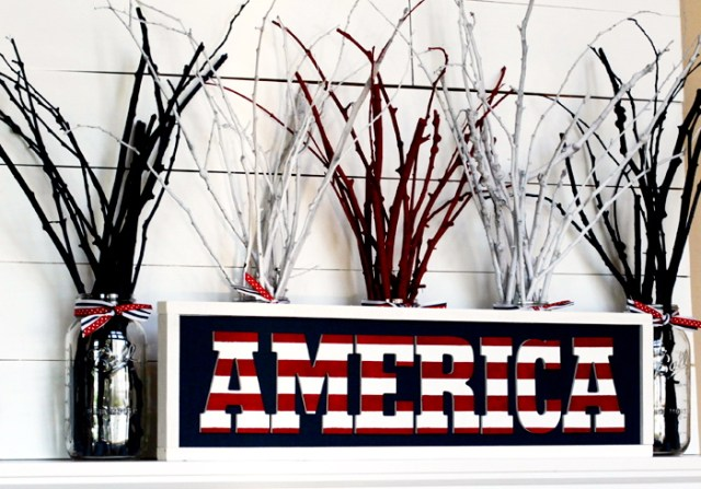 DIY Independence Day Americana-Sign