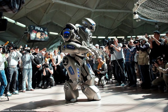 Titan the robot in moscow