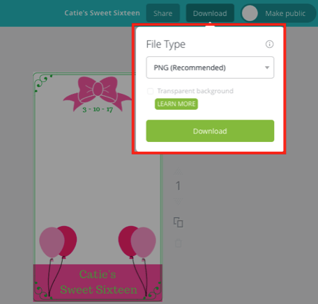 Download Canva Custom Snapchat Filter Design