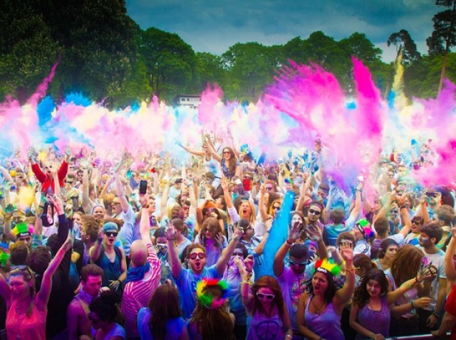 Weekend Lineup - Holi Festival