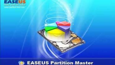 EASEUS Partition Master.