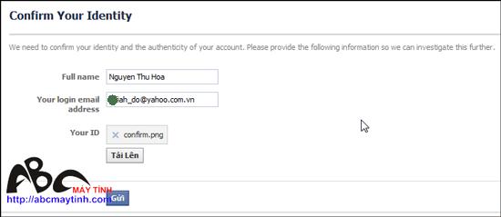 """Giải cứu"" tài khoản Facebook bị khóa"