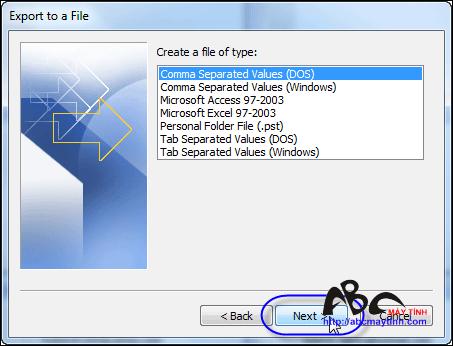 Những thủ thuật cho Microsoft Office Outlook 2007 (Phần 4)