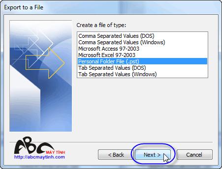 Những thủ thuật cho Microsoft Office Outlook 2007 (Phần cuối)