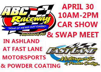 ABC Raceway & Fast Lane Motorsports & Powder Coating  Car Show and Swap Meet