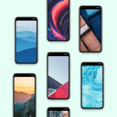 Wallpaper of the Week: Notchless. Hide the notch on your iPhone X.... : Abduzeedo - Design ...