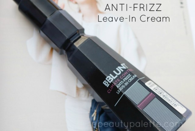 BBlunt Climate Control Anti-Frizz Leave-In Cream Review