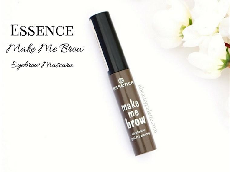 Essence Make Me Brow Eyebrow Mascara Review India