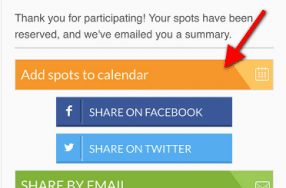 Easily Add Volunteer Commitments to Your Calendar