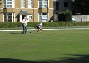 The Bowling Green of Abergele. Photo taken by Sion Jones in 2014