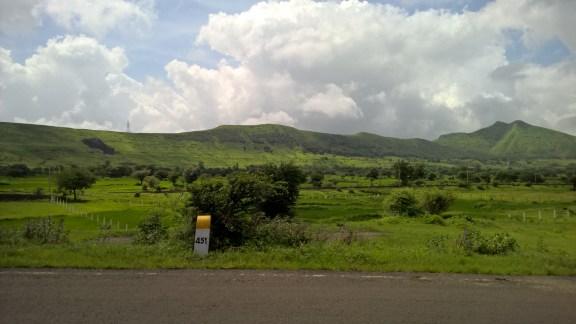 The beautiful countryside of Maharashtra