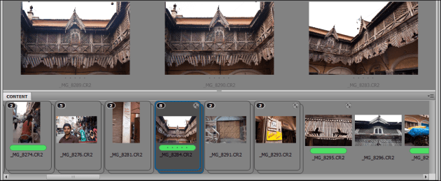 Using Adobe Bridge with stacks and labels