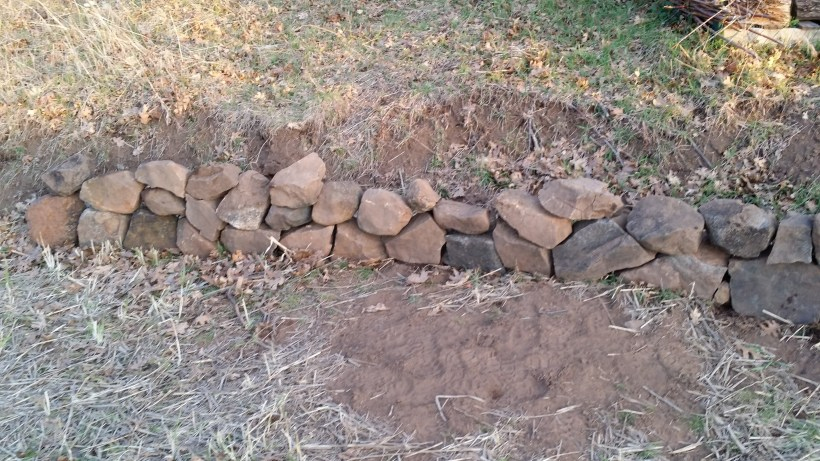 Stack Stone Wall