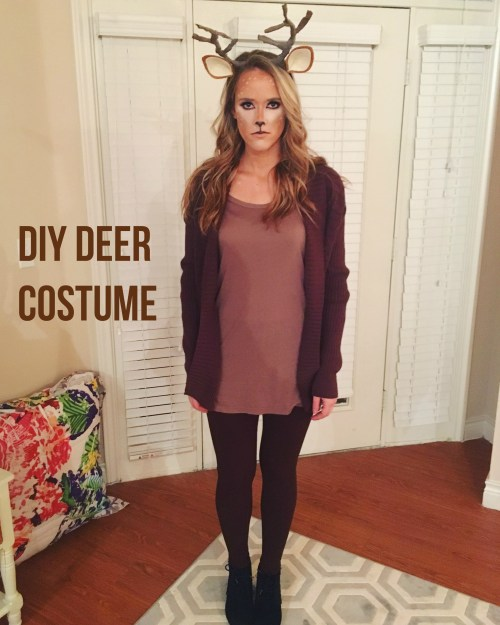 Medium Of Deer Halloween Costume